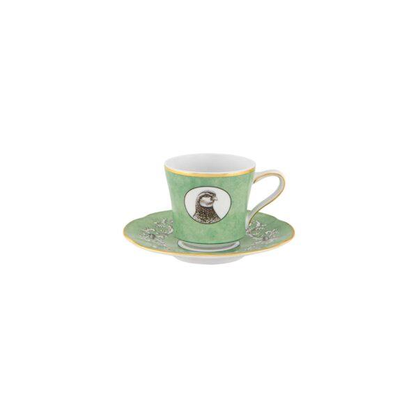 Taza de café con plato 13 cl