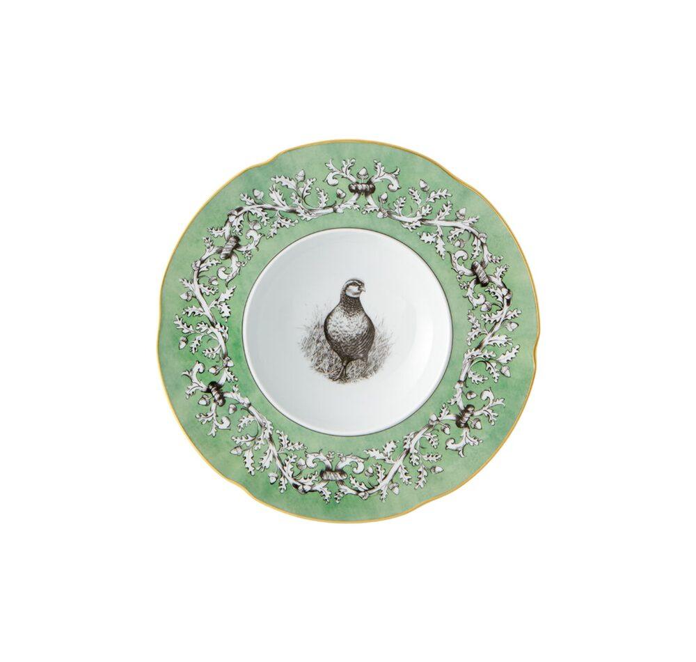 Deep plate of the Liria Palace Tableware.