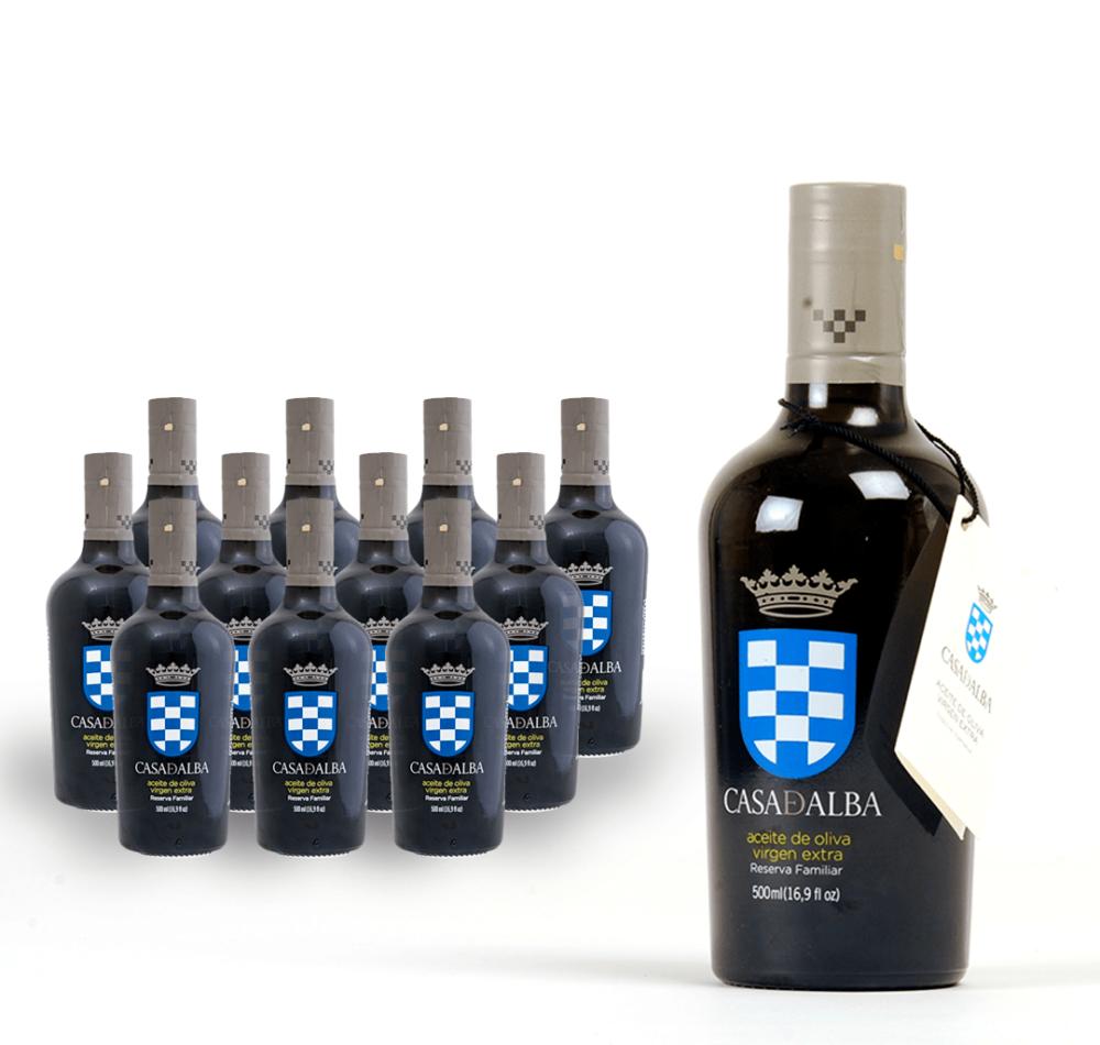 Pack 12 bottles virgin olive oil House of Alba